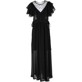 《セール開催中》PHILOSOPHY di LORENZO SERAFINI レディース ロングワンピース&ドレス ブラック 40 ポリエステル 100%