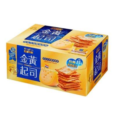 卓佑小舖♥健康時刻金黃起司餅乾 28.5公克 X 45包 Kenji Cheese Crackers