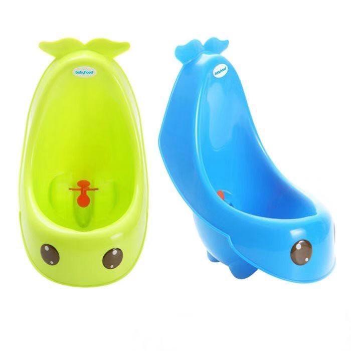 Babyhood 藍鯨艾達小便斗 學習便斗 學習便器(藍/綠)