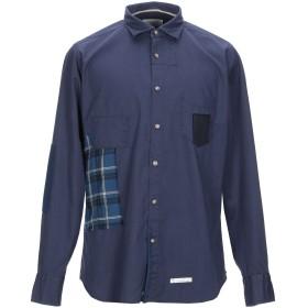 《セール開催中》TINTORIA MATTEI 954 メンズ シャツ ダークブルー 42 コットン 100%