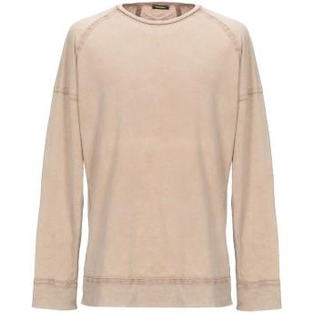 《セール開催中》IMPERIAL メンズ T シャツ キャメル M コットン 100%