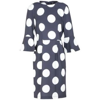 《セール開催中》XT STUDIO レディース ミニワンピース&ドレス ブルー S ポリエステル 100%