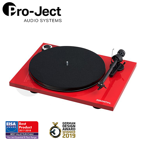 Pro-Ject Essential III (OM10E) 黑膠唱盤