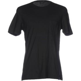 《セール開催中》DRUMOHR メンズ T シャツ ブラック M コットン 92% / カシミヤ 8%
