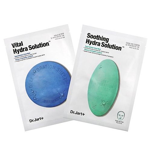 韓國 Dr.Jart+ 綠藥丸 藍藥丸 錦囊妙劑面膜 單片入 (25g)【BG Shop】2款可選/效期:2021.04.01