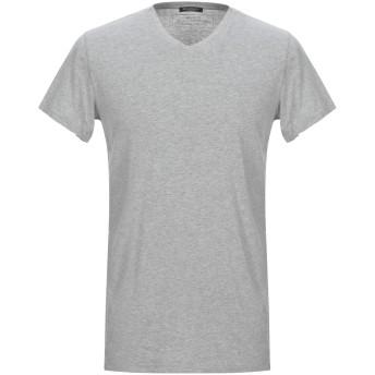 《セール開催中》BALMAIN メンズ T シャツ ライトグレー S コットン 100%