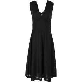 《セール開催中》LE SARTE PETTEGOLE レディース 7分丈ワンピース・ドレス ブラック 42 コットン 100%