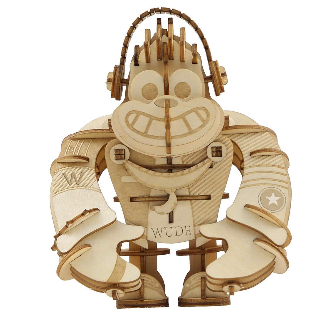 創造的な家の装飾3d木製パズルモデルの装飾品子供 Diyアセンブリギフト