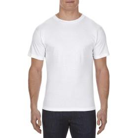 AL STYLE(アルスタイル)綿100%ポケット付き6.0oz無地ソリッドTシャツ3カラー#1305/Adult Pocket Tee/AAA トリプルA【並行輸入品】 (XL, ホワイト)