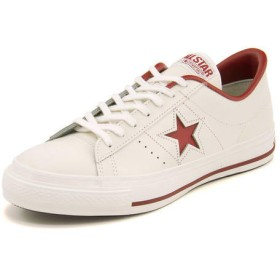 converse コンバース ONE STAR J メンズスニーカー(ワンスターJ) 32346512 ホワイト/レッド ローカット