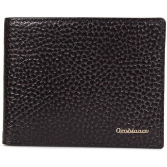 [オロビアンコ] 二つ折り財布 トラシボ メンズ 本革 ORS-022008 ブラック