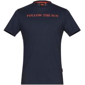 《セール開催中》SUNDEK メンズ T シャツ ダークブルー XS コットン 100%