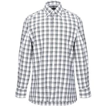 《セール開催中》CANALI メンズ シャツ ブラック S コットン 100%