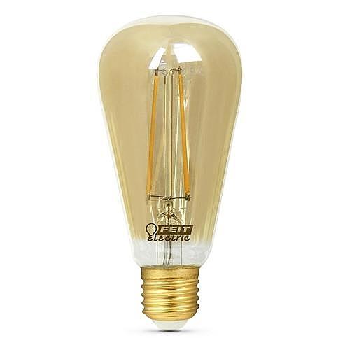 Feit LED ST19復古仿鎢絲燈泡 4入