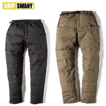GRIP SWANY グリップスワニー FIREPROOF DOWN CAMP PANTS ファイアープルーフダウンパンツ GSP-56 / GSP-OR02【ボトムス/難燃素材/キャンプ/アウトドア】