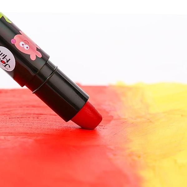 兒童蠟筆24色絲滑旋轉油畫棒可水洗蠟筆
