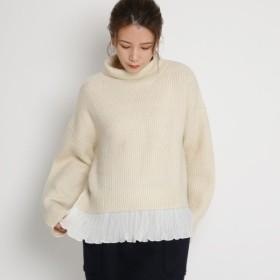 [マルイ] タートルネック裾プリーツニット/エージー バイ アクアガール(AG by aquagirl)