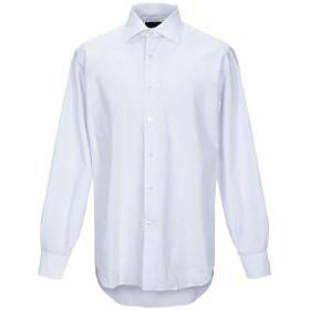 《セール開催中》DOMENICO TAGLIENTE メンズ シャツ ライトグレー 41 コットン 100%