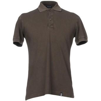 《セール開催中》DRUMOHR メンズ ポロシャツ 鉛色 S コットン 100%