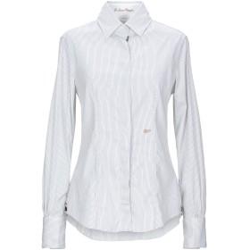 《セール開催中》LE SARTE PETTEGOLE レディース シャツ ホワイト 42 コットン 70% / ナイロン 27% / ポリウレタン 3%