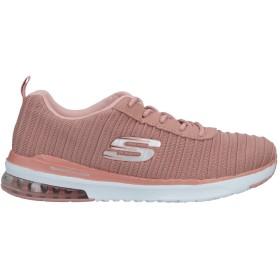 《セール開催中》SKECHERS レディース スニーカー&テニスシューズ(ローカット) ピンク 5 紡績繊維