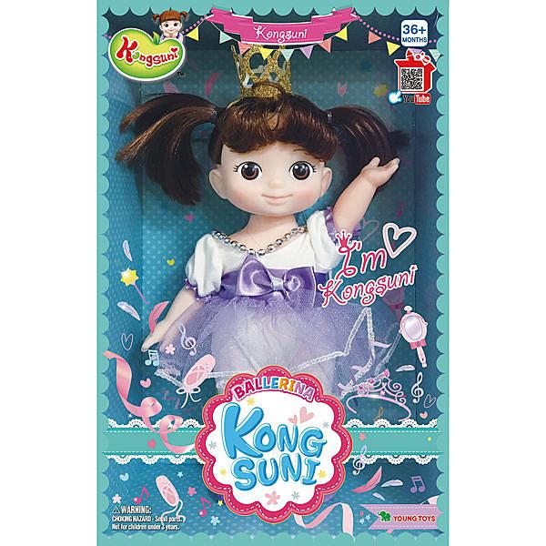 《 KONGSUNI 小豆子 》娃娃芭蕾舞者 / JOYBUS玩具百貨