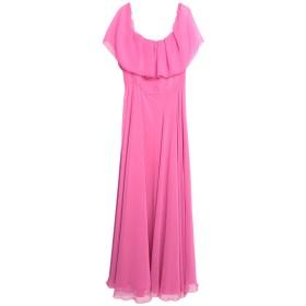 《セール開催中》MATILDE COUTURE レディース ロングワンピース&ドレス フューシャ 42 ポリエステル 100%