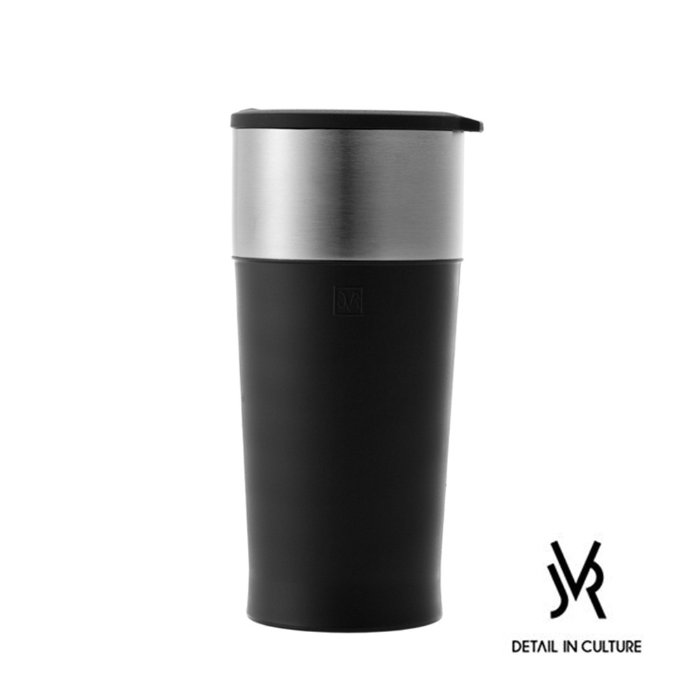 JVR 韓國原裝MARTIN不鏽鋼馬丁隨行杯350ml 攜帶式外出迷你輕巧掀翻蓋保溫耐冷熱不銹鋼環保沖泡茶咖啡隨身杯