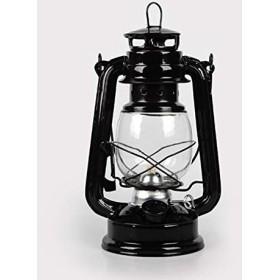 テーブルランプ、レトロサイドテーブルランプ、灯油ランプクリスマスギフト4色灯油ランタンウィックポータブルライトデコレーション Home (Lampshade Color : Black)
