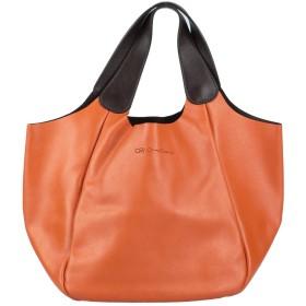 《セール開催中》CRUCIANI レディース ハンドバッグ オレンジ 革