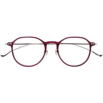 ピントグラス シニアグラス(老眼鏡1本で度数 +0.0D ~ +1.75Dの累進設計) ファッションタイプ パープル
