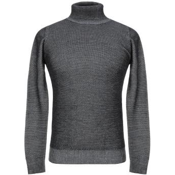 《セール開催中》JEORDIE'S メンズ タートルネック ブラック M ウール 50% / アクリル 50%