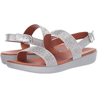 [フィットフロップ] レディースサンダル・靴 Barra Crystalled Silver (27cm) M (B) [並行輸入品]