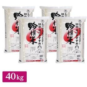 田中米穀 【精米】お米マイスター田中亮おすすめ吟撰米(国産) 40kg(10kg×4)