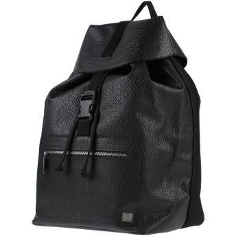 《セール開催中》PRIMO EMPORIO メンズ バックパック&ヒップバッグ ブラック ポリウレタン 100%