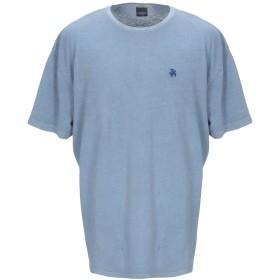 《セール開催中》HOMEWARD CLOTHES メンズ T シャツ ブルーグレー S コットン 100%