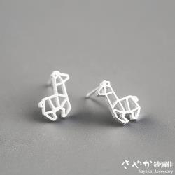 【Sayaka紗彌佳】可愛動物系列長頸鹿造型耳環