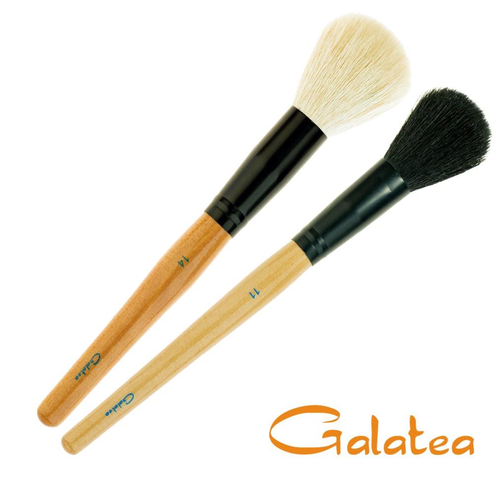 Galatea葛拉蒂 彩顏系列 羊毛蜜粉刷+腮紅刷(葛拉蒂品牌旗艦店)