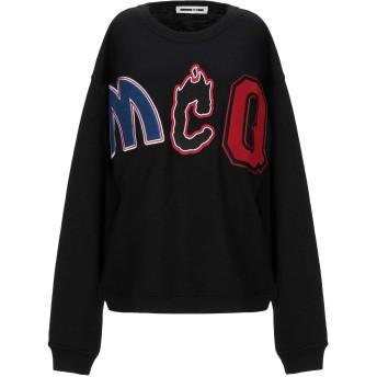 《セール開催中》McQ Alexander McQueen レディース スウェットシャツ ブラック XS ポリエステル 57% / コットン 33% / レーヨン 10%