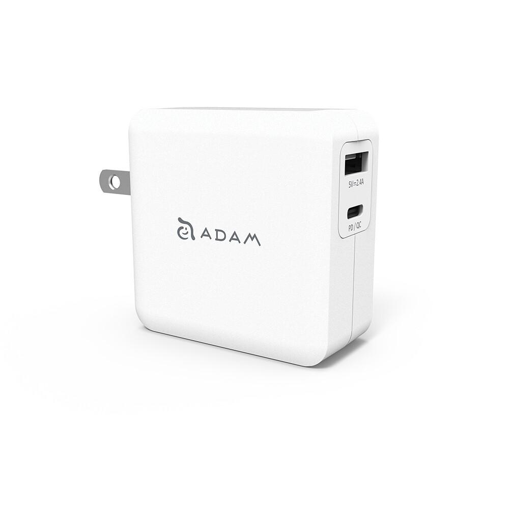 adam 亞果元素 omnia f2 usb-c pd 3.0 快速充電器 30w