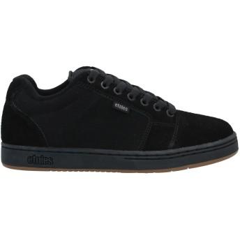 《セール開催中》ETNIES メンズ スニーカー&テニスシューズ(ローカット) ブラック 7 革 / 紡績繊維