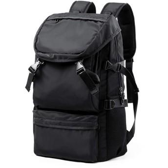 BAJIMI バックパック カメラバッグ 大容量 耐久性 大容量 バックパッ クブラック カジュアル バッグ メンズ シンプル スポーツ バッグ 学生 旅行 ハイキング バックパック おしゃれ 収納 旅行 (色 : ブラック, サイズ : 321852CM)