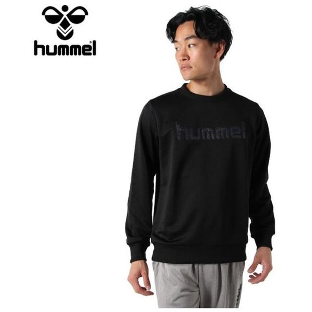 ヒュンメル hummel  ハンドボールウェア トレーナー メンズ スウェットクルーネック HAP8209C