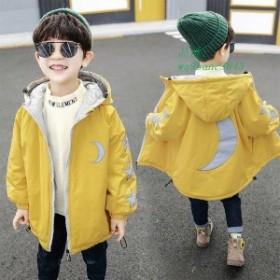 子供服 女の子男の子 ダウンコート キッズ服 キッズコート アウター100 フード付き ジャケット 冬着 子供コート ロング 中綿コート