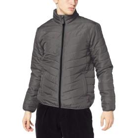 [ジョルダーノ] パデットスタンドジャケット XL グレー