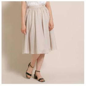 【アナトリエ/anatelier】 ライトギャザースカート