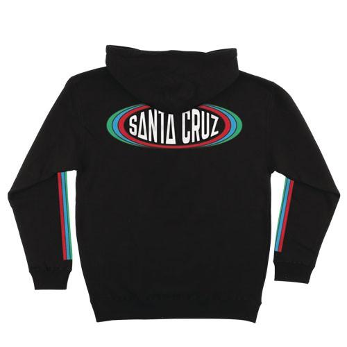Santa Cruz Region 帽T (黑)《Jimi Skate Shop》