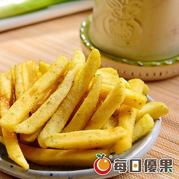 黃金脆薯條.濃郁香蔥135G 每日優果