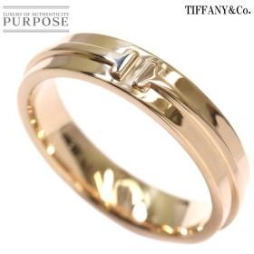 ティファニー T TWO ツー リング 27.5号 K18PG 18金ピンクゴールド 750 指輪 TIFFANY&Co.