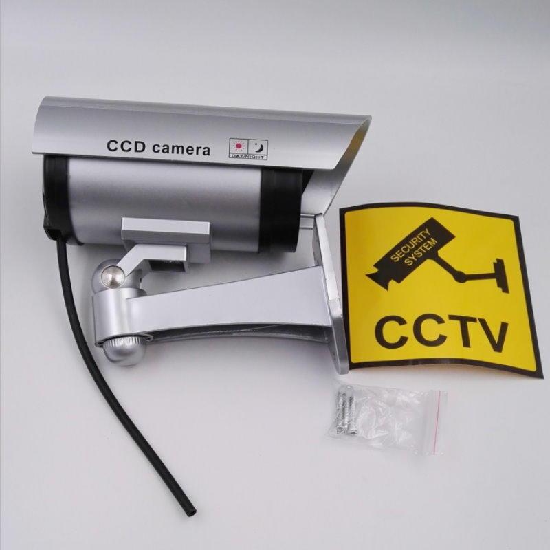 偽裝監視器 假監視器 逼真假攝影機 紅燈閃爍 假攝影鏡頭 仿監視器 仿攝影機 仿真攝像頭【DC486】 123便利屋